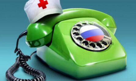 Справочные телефоны медицинских  учреждений