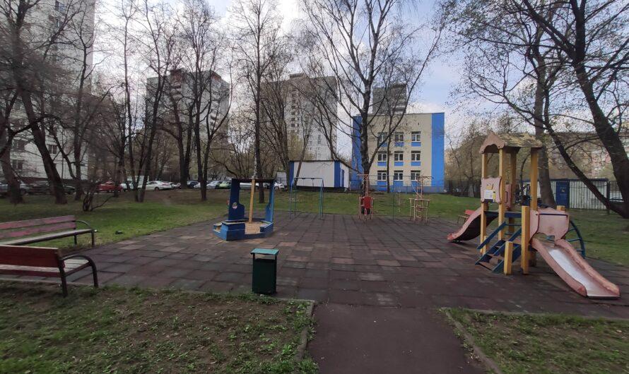 Продолжаем мониторинг детских (спортивных) площадок района
