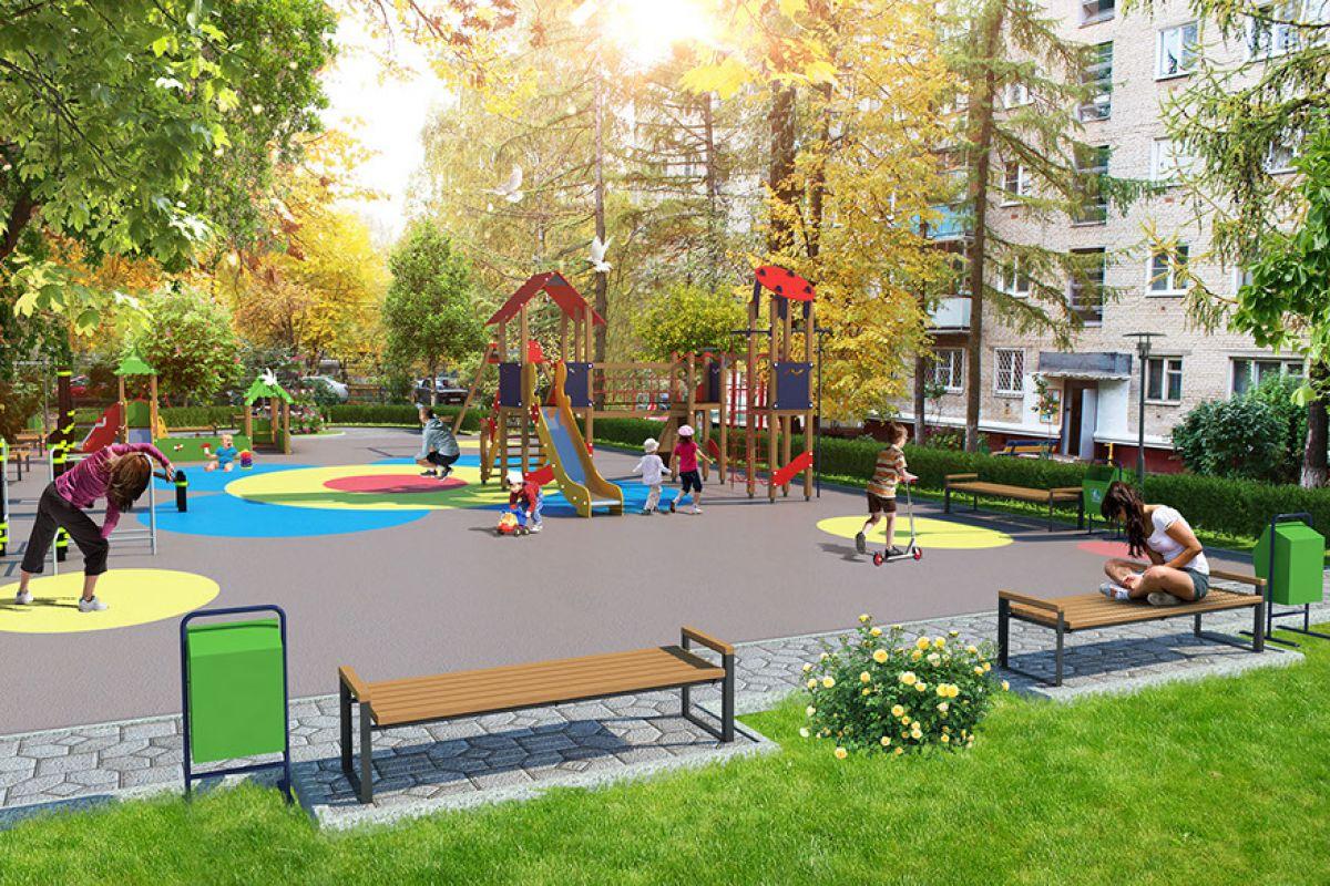 В Алексеевском районе началось комплексное благоустройство дворовых территорий