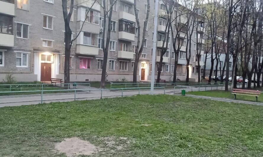 Установка «лежачих полицейских» на 1-м Рижском переулке, около детской площадки.
