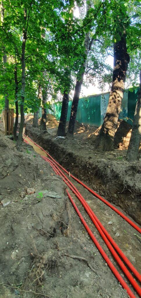 Нарушается ли природоохранное законодательство при проведении комплексного благоустройства  сквера на Рижском проезде?